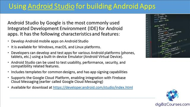 Android Studio Video Course