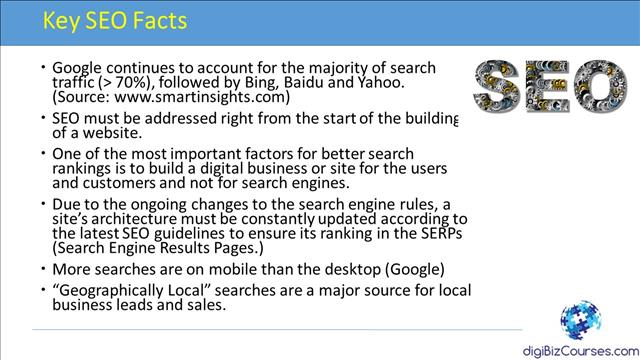 Key SEO Facts