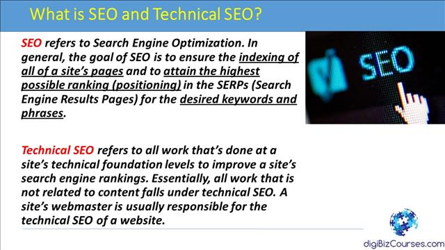 What is SEO and Technical SEO