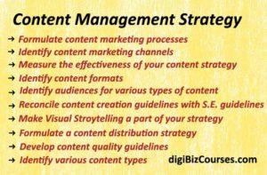 content management strategy