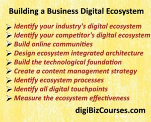 building digital ecosystem