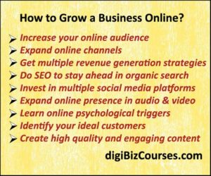 how to grow a business online