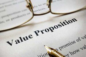 online digital business value proposition