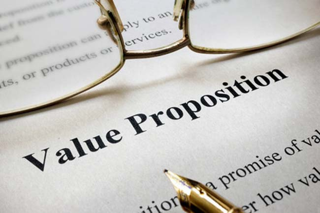 online digital business value proposition